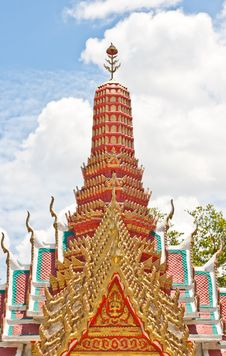 Free Joss House Thai Style Stock Photography - 21309192