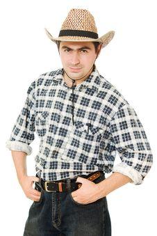 Free Cowboy. Royalty Free Stock Image - 21309606