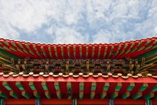 Free Chinese Temple In Thailand Stock Image - 21309801