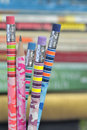 Free Closeup Of Colored Pencils Royalty Free Stock Photography - 21314647