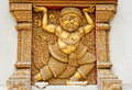 Free A Giant Stucco In A Thai Temple Royalty Free Stock Photography - 21317847