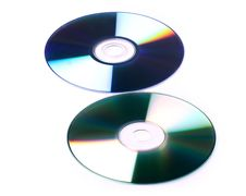 Free Cd And Dvd White Background Stock Photo - 21310260