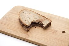 Free Bread With Chocolate Royalty Free Stock Photos - 21310388