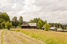 Free Traditional Slovak Village Stock Photos - 21313143