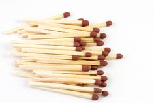 Free Pile Of Matches Royalty Free Stock Photography - 21313397