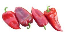 Free Fresh Red Peppers Stock Photography - 21313512
