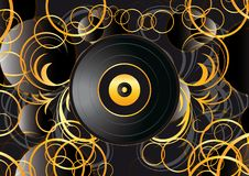 Free Vinyl Record Abstract Background Royalty Free Stock Photos - 21314638