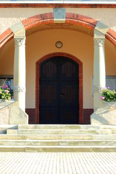 Free Church Door Stock Photo - 21314900