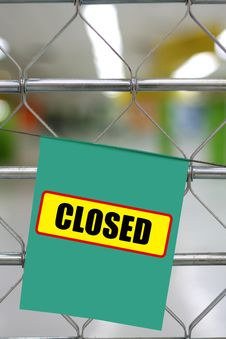 Free Closed Royalty Free Stock Photo - 21315075