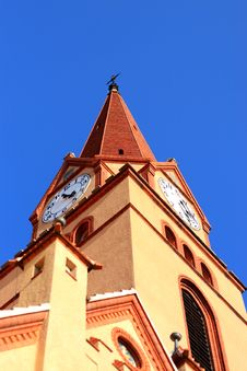 Free Church Tower Royalty Free Stock Image - 21315076