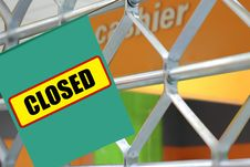 Free Closed Stock Image - 21315131