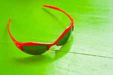 Free Red Sunglasses Stock Images - 21315614