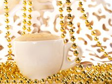 Free Christmas Coffee Royalty Free Stock Image - 21317046