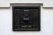 Free Night Bank Deposit Safe Stock Images - 21318394
