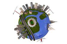 Free Model Of The Globe Stock Photo - 21319840