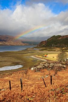Free A Beautiful Rainbow Royalty Free Stock Photography - 21319887