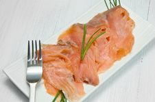 Free Smoked Salmon Stock Photo - 21319900