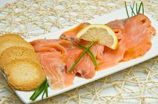 Free Smoked Salmon Stock Images - 21319944