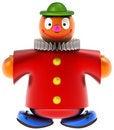 Free Toy Clown Royalty Free Stock Photo - 21327465