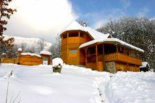A Cabana In Transylvania Stock Photos