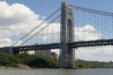 Free George Washington Bridge Royalty Free Stock Photo - 21323685