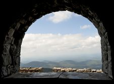 Free View From The Whiteface Mountain Castle. Royalty Free Stock Photography - 21324487