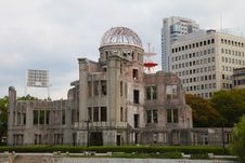 Free A-Bomb Dome, Hiroshima City Stock Photography - 21325242