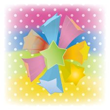 Free Vector Abstract Star Cover Background Stock Photo - 21327170