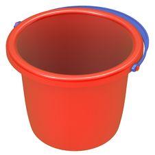Free Empty Red Bucket . Stock Photos - 21327453