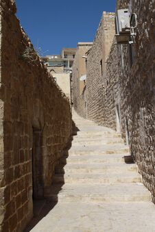 Free Stairway Of Mardin. Royalty Free Stock Images - 21327989