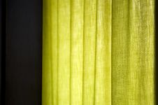 Green Window Light Royalty Free Stock Image