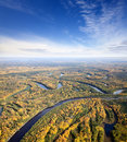 Free River In Autumn Forest Royalty Free Stock Images - 21333799