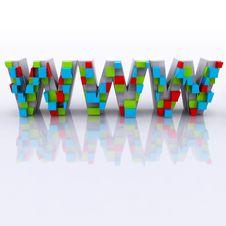 Free World Wide Web Royalty Free Stock Photo - 21330255