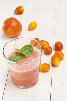 Tomatoes Juice Royalty Free Stock Photo