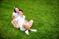 Free Happy Romantic Couple Royalty Free Stock Images - 21330879