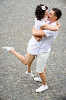 Free Romantic Couple Stock Images - 21330984