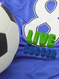 Free LIVE SOCCER Royalty Free Stock Photo - 21332705