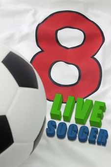 Free LIVE SOCCER Stock Images - 21332794