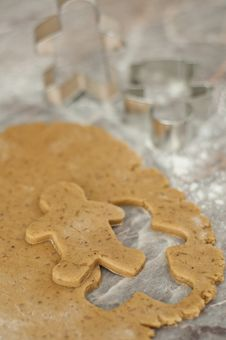 Free Gingerbread Man Royalty Free Stock Images - 21333049