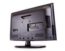 Free LCD T.V. Rear Royalty Free Stock Images - 21333459