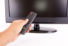 Free LCD T.V. Remote Stock Photos - 21333703
