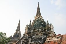 Free Wat Phasri Sanphet Stock Photos - 21333993
