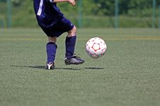 Free Soccer-player Royalty Free Stock Photo - 21334445