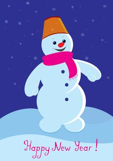 Free Snowman Stock Images - 21334994