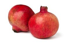 Free Two Pomegranates Stock Photography - 21337592