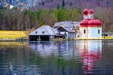 Free Sankt Bartholoma On Konigsee Royalty Free Stock Image - 21338456