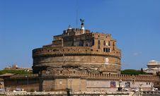 Free Castel Sant  Angelo. Stock Images - 21338904