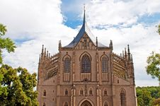 Free Cathedral In Kutna Hora Stock Photos - 21339473