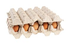 Free Eggs In The Package Stock Photography - 21339762