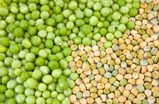 Mix Of Peas Royalty Free Stock Photo